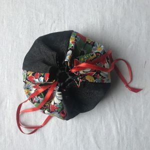 Komebukuro Vintage/noir Petit