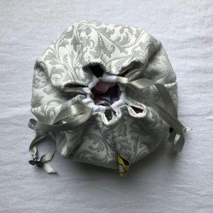 Komebukuro Brocart gris
