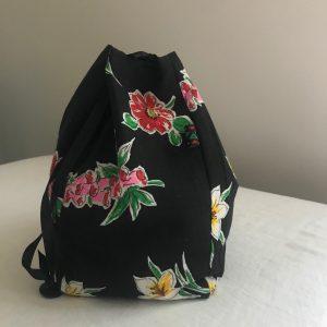 Komebukuro Fleurs fond noir GM