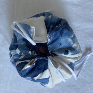Komebukuro fleurs bleues