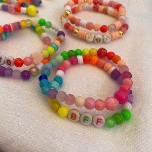 Lot deux bracelets BFF