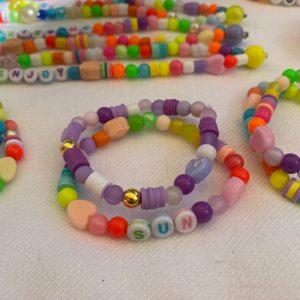 Lot deux bracelets SUN