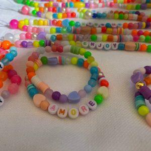 Lot deux bracelets AMORE