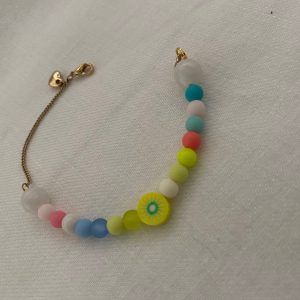 Bracelet kiwi coeur