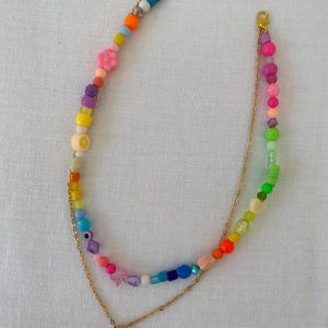 Collier double coquillage AI